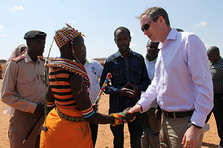 UK International Development Minister visits HSNP Marsabit