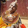 A HSNP beneficiary that sell milk at Marsabit