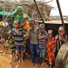 A family that benefits from HSNP, Wajir