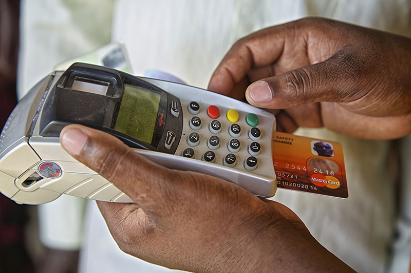 Use of ATM cards to access cash
